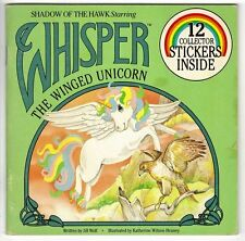 Children's Book ~ WHISPER THE WINGED UNICORN ~ All Stickers Unused & Intact