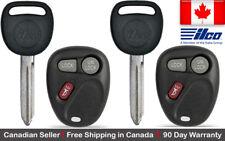 2x New non Transponder Key For Chevy GMC Cadillac Pontiac Hummer B102P LHJ011