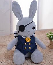 Black butler Kuroshitsuji Ciel Cosplay Kostüm Hase Rabbit Plüsch Figur Plush Neu