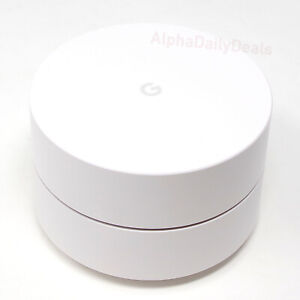 Google Home Wi Fi System Mesh Router 1-Pack White AC-1304 GA00157-US