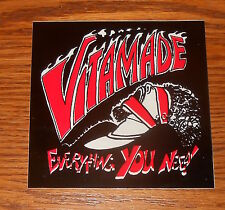 Vitamade Everything You Need! Sticker Decal Square Promo 4x4 Rare