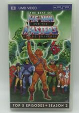 BEST OF HE-MAN & MASTERS OF UNIVERSE UMD VIDEO FOR PSP PLAYSTATION PORTABLE, 5 E