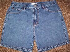 VTG Calvin Klein High Waisted Rise Denim Shorts Size 11 90s Womens MOM Jrs