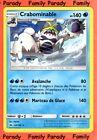 Crabominable 140pv 43/149 Soleil et Lune Carte Pokemon Rare neuve FR