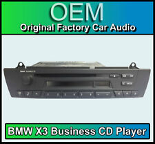 BMW X3 CD player, BMW Business car stereo, BMW E83 radio unit