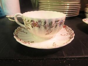 Copeland Spode Wicker Dale Cup & Saucer