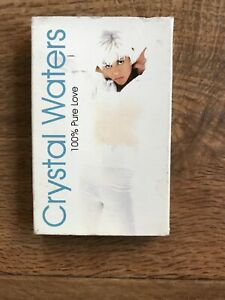 1994 CASSETTE SINGLE - 100% PURE LOVE ( Radio & Gumbo Mix ) - CRYSTAL WATERS