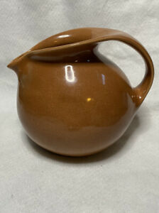 RUSSEL WRIGHT STERLING Cedar Brown Water Pitcher mid century modern