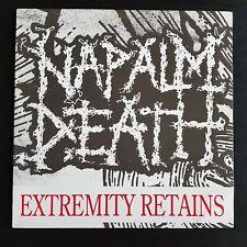 NAPALM DEATH * EXTREMITY RETAINS 12'' Vinyl LP