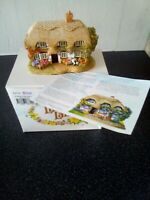 Lilliput Lane Woodturners Cottage ...with box and deeds