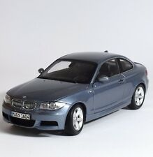 Kyosho 80430427065 BMW 1er sport coupé en bleu métallisé laqué, 1:18, NEUF dans sa boîte, k004