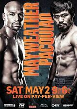 Mayweather vs Pacquiao A3 Poster