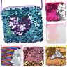 Girls Kids Sequins Coin Purse Shoulder Bag Crossbody Messenger Handbag Wallet