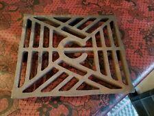 "Vintage Cast Iron Sad Iron Trivet 6644 6-3/4"" X 5-3/4"""