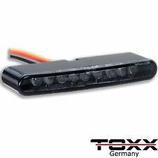 ToXx LED Micro Einbau Rücklicht Bremslicht getönt E-geprüft Motorrad Quad Roller