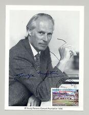 Montserrat #B3 Sir George Martin Autographed Maximum Card FDC