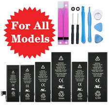 For iPhone 4 5 6 6S 7 8 Plus Replacement Internal Li-ion Battery with Tools kit
