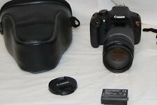 Canon EOS Rebel T5 Digital SLR Camera, 75-300mm lens, Extras Pre-owned  Nice!