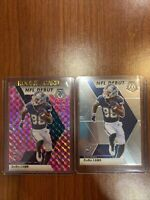 2-2020 Panini Mosaic CEEDEE LAMB NFL DEBUT BASE/PINK CAMO PRIZM RC's COWBOYS Lot