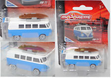 Majorette 212052010 VW Transporter Kleinbus  T1, weiß / blau, VINTAGE