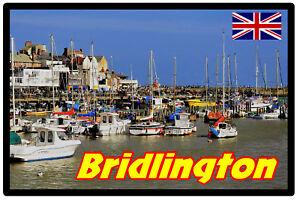 Bridlington,Yorkshire - Souvenir Nouveauté Réfrigérateur Aimant - Sites