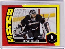 JONAS HILLER 14/15 OPC O-Pee-Chee #ST-39 Retro Sticker Insert Anaheim Ducks Card