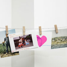 Clothespin/Peg Photo Holder with 6 pegs