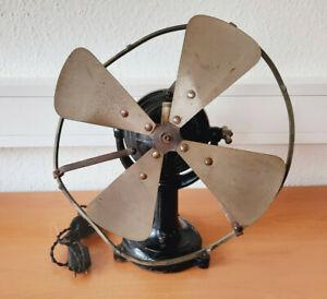 SACEB Antik Ventilator um 1900 +Kennzeichnung PAZ & SILVA FRANCE PARIS fan old