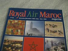 Royal Air Maroc Magazine - Nov Dec 1999 Morocco Airline Airplane Old RAM Booklet