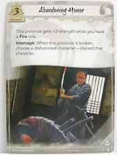Legend of the five rings LCG - 1x #041 abandoning Honor-the fires within
