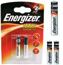 GENUINE ENERGIZER AAAA 1.5V BATTERY FOR DIGITAL PENS HEADLAMPS JABRA BLUETOOTH