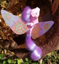 Flutter Wings My Little Pony Mandala Flower Lily Custom OOAK Replacement MLP G1