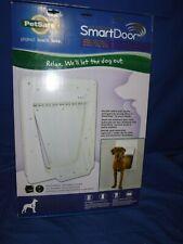 PetSafe Electronic Smart Pet Dog Door Large up to 100lbs Ppa11-10709 Read