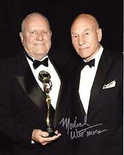 MAKEUP ARTIST MICHAEL WESTMORE SIGNED 'STAR TREK' 8x10 PHOTO COA PATRICK STEWART