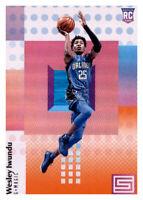 2017-18 Status Orange Wes Iwundu Magic #119 NBA Rookie RC Parallel PWE
