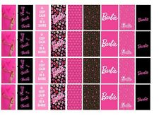 "90 Barbie Water Slide Decals ""Be A Barbie Girl "" Nail Decorations Nail Tech DIY"