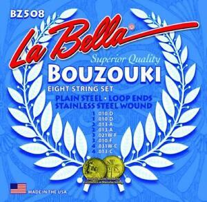 La Bella BZ508 Stainless Steel BOUZOUKI Strings, Custom