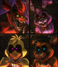 Five Nights at Freddy's - Edible Cake Frosting Sheet