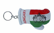 Keychain Mini boxing gloves key chain ring flag key ring cute hungary hungarian