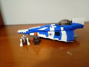 LEGO Star Wars Plo Koon's Jedi Starfighter (8093) Mostly complete.