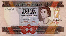 Solomon Islands 20 Dollars issued 1981 P8 VF