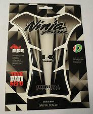 "ORBITAL TANK PROTECTOR PAD - KAWASAKI - NINJA 250R - BLACK/CLEAR - 5.7"" x 6.69"""