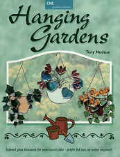 HANGING GARDENS Stained Glass Pattern Book Suncatchers WINDOW DECORATIONS