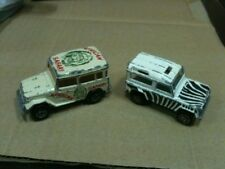 Lotto 2 Majorette Toyota African Safari (1/53 n°277) e Land Rover (1/60 n° 266)