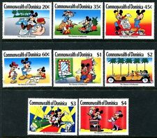 Dominica 1208-1215, Mnh, Disney characters Mickey Mouse. x8588