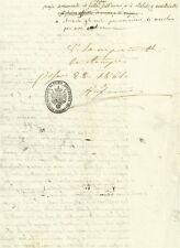 Bozza Manoscritta Approvazione Ufficio Censura Pesaro Trattato Ragione 1861