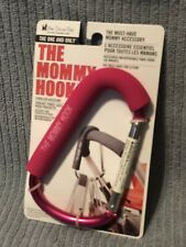 The Original, The One And Only Mommy Hook Stroller Accessory-  Pink (NEW)!!!