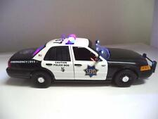 San Francisco Police Ford Crown Victoria 1/18 K-9  Diecast Lights & SIREN Ut