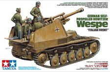 "Tamiya 35358 1/35 Model Kit German Self-Propelled Howitzer Wespe ""Italian Front"""