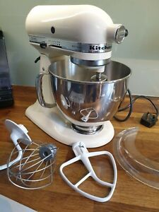 Kitchen Aid Artisan Mixer Ksm150 Cream